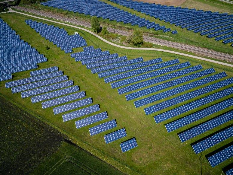 Goal 7 solar panels
